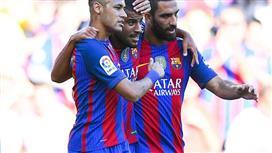 نجم برشلونة قد ينتقل لريال مدريد في حال رحيل انريكي