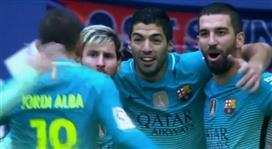 بالفيديو - برشلونة يخرج من دوامة التعادلات بفوز منطقي على ملعب أوساسونا بثلاثية نظيفة !