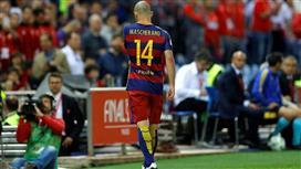 سبورت: ماسكيرانو أبلغ برشلونة برحيله إلى يوفنتوس.. لهذه الأسباب