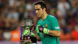 ميرور: برشلونة يفرض شروطه.. ويؤخر انتقال كلاوديو برافو إلى السيتي
