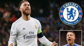 ديلي إكسبريس: تشيلسي يدخل في مفاوضات مع ريال مدريد لضم المُنقذ سيرجيو راموس !!