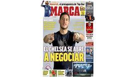 الماركا: أخيراً.. تشيلسي وعد هازارد بالسماح له بالإنتقال إلى ريال مدريد !