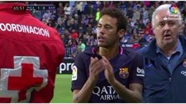 ماركا: لهذا السبب .. برشلونة واثق من إيقاف نيمار لمباراة واحدة فقط