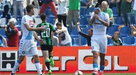 بالفيديو - نابولي يسقط في فخ ساسولو ويتعادل في مباراة مثيرة خسر فيها فرصة الصعود للوصافة