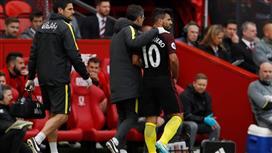 الصن: إصابة أغويرو تبعده حتى نهاية الموسم