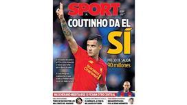 سبورت: كوتينيو قال «نعم» لبرشلونة و«لا» لباريس.. و«الريدز» حدد سعره بـ 90 مليون يورو