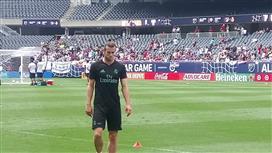 جاريث بيل يغادر تدريبات ريال مدريد مصاباً
