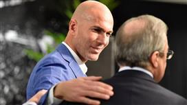 الأسباب الحقيقية لاستقالة زيزو .. مشادة مع فلورنتينو بيريز بسبب هذين اللاعبين