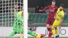بالفيديو.. روما يتغلب على كييفو فيرونا بثلاثية