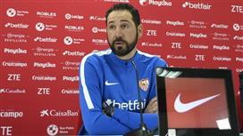 مدرب إشبيلية: قادرون على إسقاط برشلونة