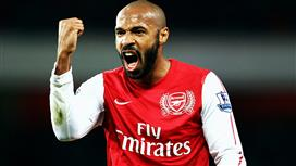 هنري يتصدر استفتاء أفضل لاعب أجنبي في تاريخ الدوري الإنجليزي