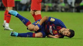 برشلونة يستقر على ضم أرجنتيني لتعويض إصابة لويس سواريز