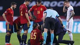 إنريكي يوجه رسالة لريال مدريد بشأن إصابة راموس