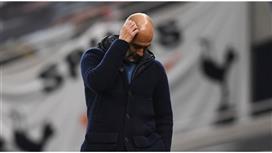 غوارديولا متخوف من عودة أغويرو للملاعب