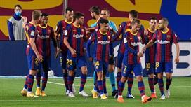 بيان رسمي من برشلونة عن تخفيض رواتب اللاعبين