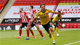 بالفيديو - آرسنال يهزم شيفيلد في الدقيقة الأخيرة ويتأهل لنصف نهائي كأس الإتحاد