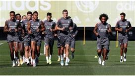 إيسكو يعود وغياب هازارد وبيل عن تدريب ريال مدريد
